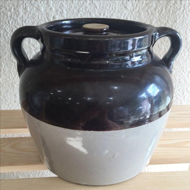 Vintage Jar With Two Jug Handles - Image 2 of 6
