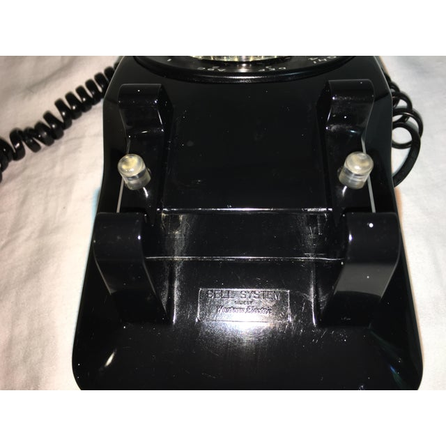 Vintage Black Rotary Telephone - Image 6 of 8