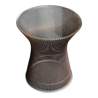 Warren Platner Copper Occasional Table for Knoll Circa 1965 For Sale