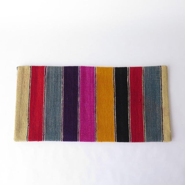 Vintage Striped Kilim Pillow - Image 4 of 7