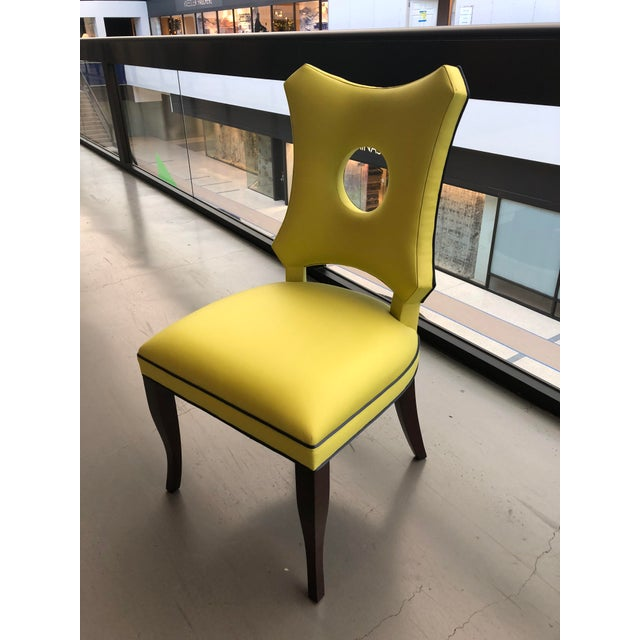 Contemporary Modern Dining Chair For Sale - Image 3 of 7