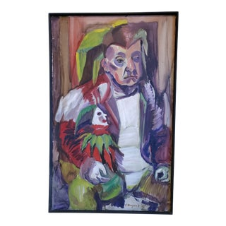 Mid 20th Century The Jester or the Clown For Sale