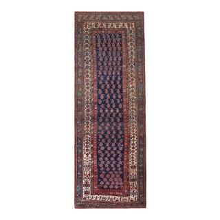 "Antique Persian Kurdish Rug 4'3"" X 11'4"" For Sale"