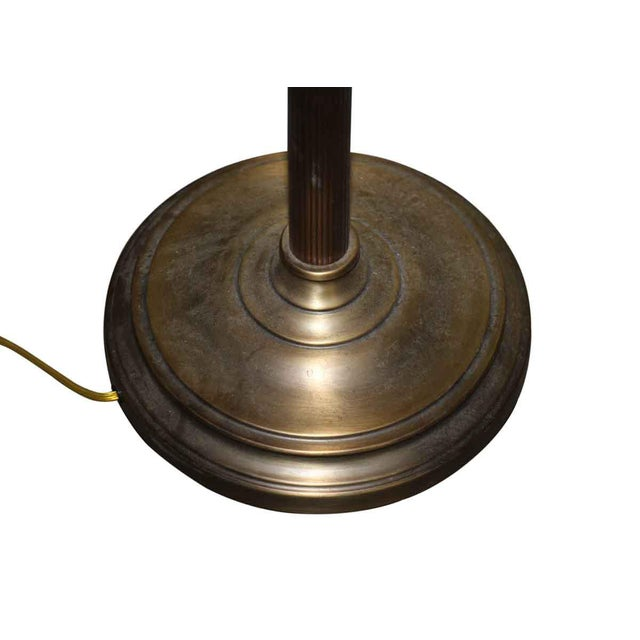 Brass Floor Lamp For Sale - Image 4 of 5