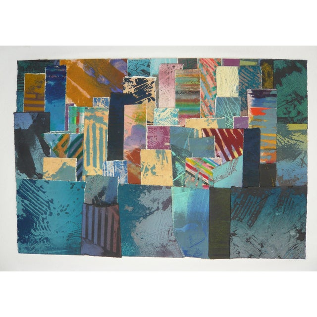 Colorful Collage BFK Paper Print - Image 1 of 3