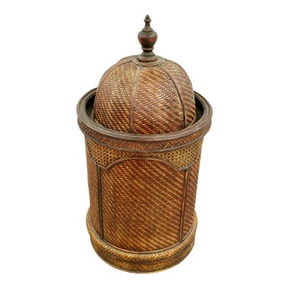 Unique Moroccan Style Hidden Basket For Sale