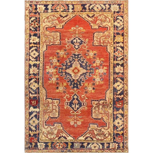 "Pasargad Vintage Sivas Collection Rug- 4' 4"" x 6' 7"" - Image 1 of 2"