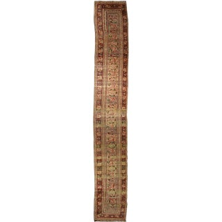 Antique Persian Khorassan Hall Runner