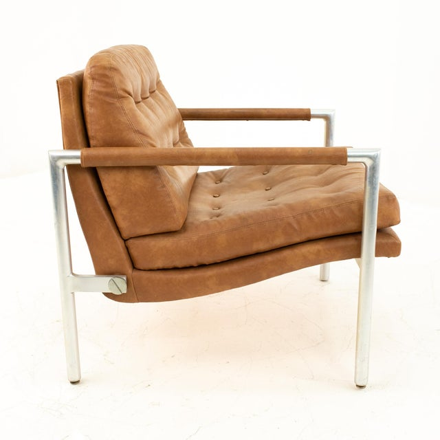 1960s Jack Cartwright for Founders Mid Century Lounge Chairs - Pair For Sale - Image 5 of 11