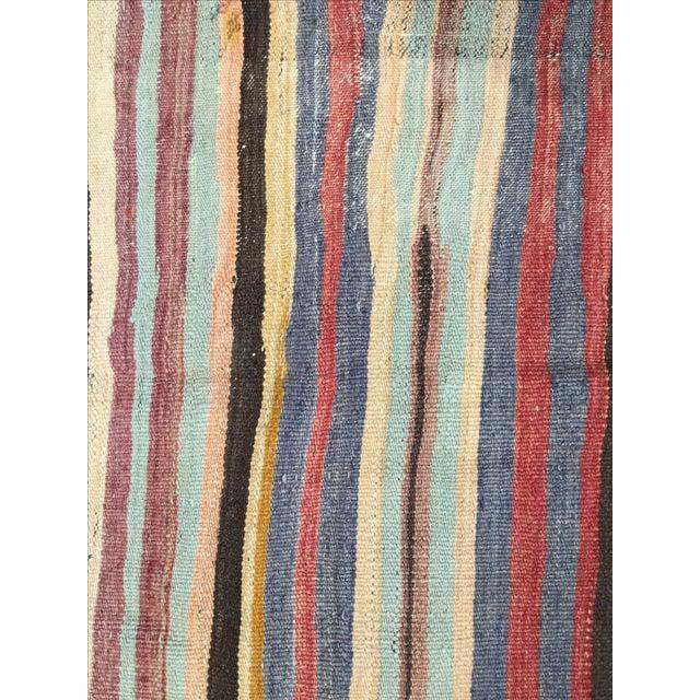 Turkish Vintage Kilim - 5′3″ × 10′8″ - Image 6 of 8