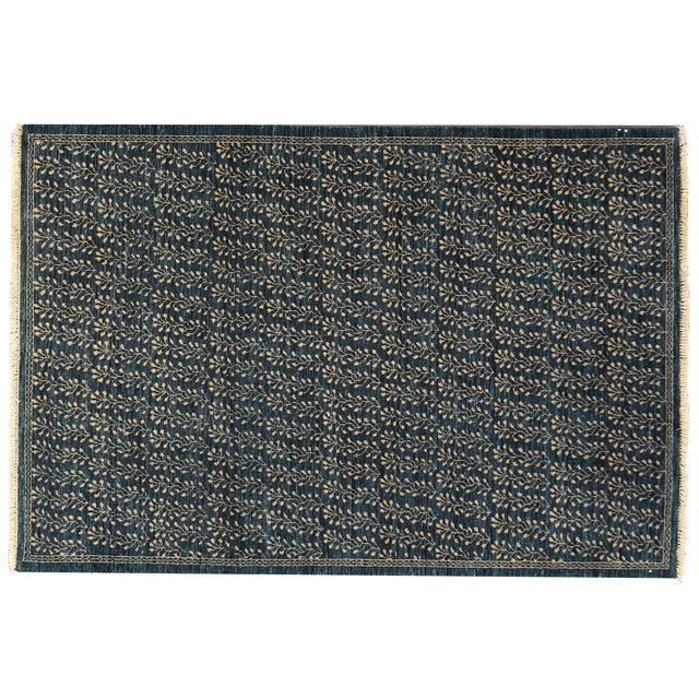 "Apadana Contemporary Rug - 4' X 5'9"" - Image 1 of 4"