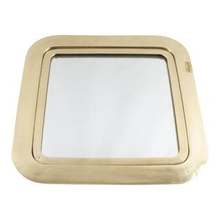Italian Esa Fedrigolli Gilded Bronze Tray Platter For Sale