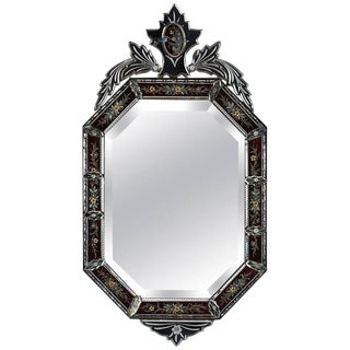 Antique Italian Venetian-Style Mirror