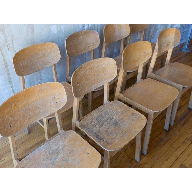 Italian Vintage Italian School Chairs- Set of 8 For Sale - Image 3 of 11