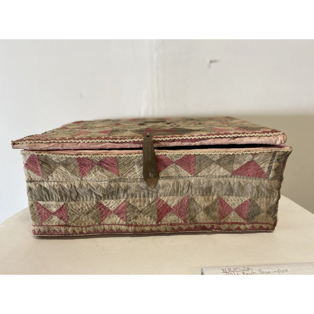Antique Katha Quilt Box For Sale - Image 12 of 12