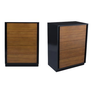 Pair of Mid-Century Chest of Drawers For Sale