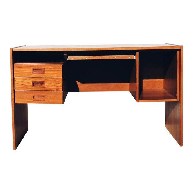 Vi-Ma Mobler Danish Teak Executive Desk - Image 1 of 6