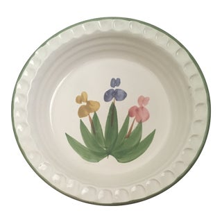 Vintage Mayking Creek Pottery Pie Plate For Sale