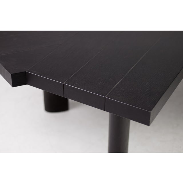 Black Oak Table by Charlotte Perriand for Cassina For Sale - Image 8 of 12