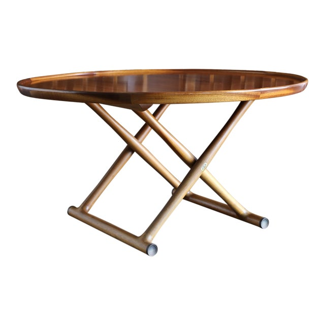Large Egyptian Table by Mogens Lassen for A.J. Iversen Circa 1955 For Sale