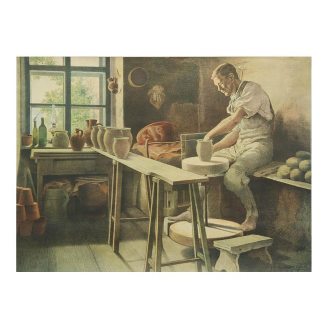 Pottery School Poster, 1929 For Sale