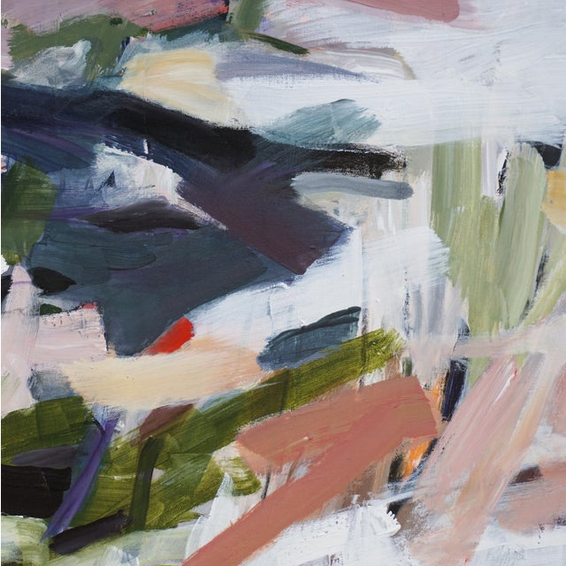 """2020s Abstract Laurie MacMillan """"Opposites Attract"""" Painting For Sale - Image 5 of 7"""