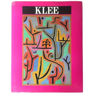 Paul Klee Rare Vintage 1996 1st Edtn Collector's Hardcover Monograph Modern Art Book For Sale