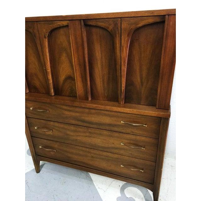 Mid-Century Modern Tallboy Dresser - Image 4 of 6