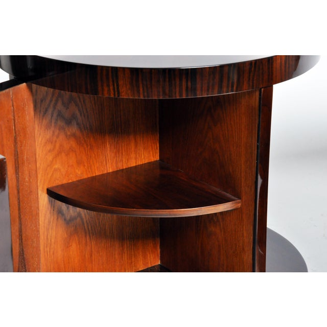 Round Side Table with Shelf- A Pair For Sale - Image 10 of 11