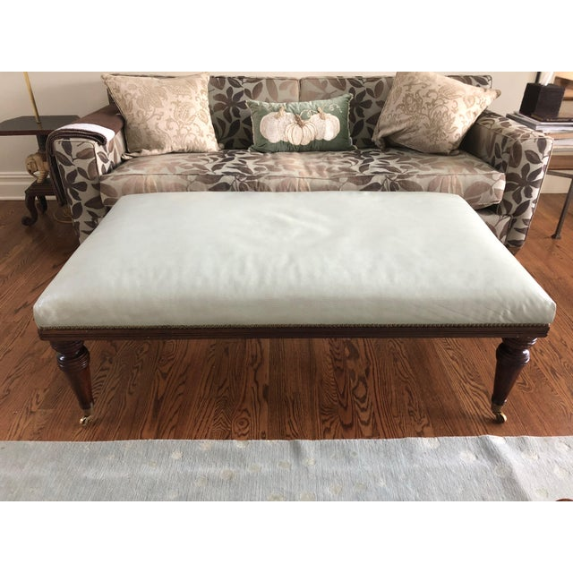1990s Vintage Ottoman Coffee Table For Sale - Image 11 of 11