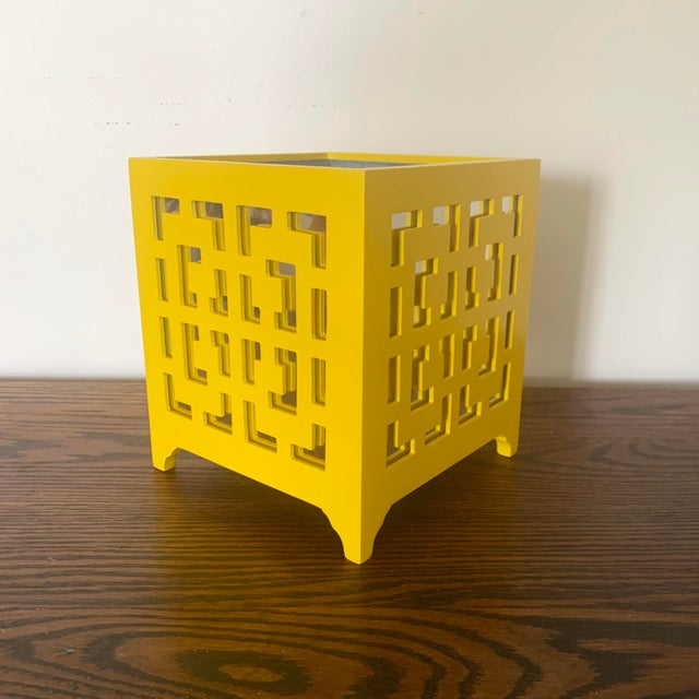 Beautifully constructed and nicely appointed, the Worlds Away Libby planter infuses your home with modern styling....