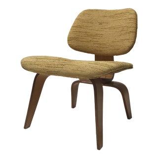 Rare Eames Upholstered Lcw for Herman Miller