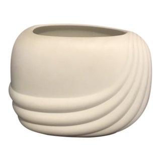 1979 Mid-Century Modern Uta Feyl Rosenthal Studio Linie Ceramic Vase For Sale