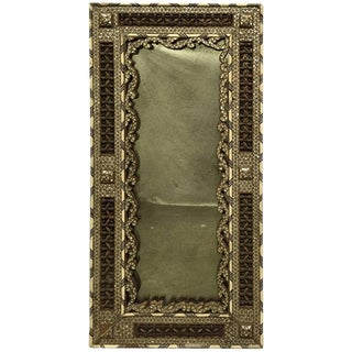 19th Century Syrian Mother of Pearl Inlaid Mirror For Sale
