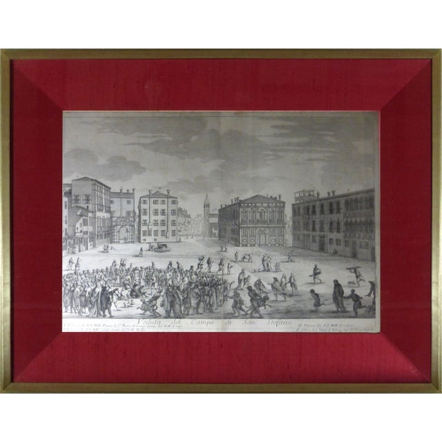 Rare Venice Engravings C. 1720 - Set of 15 - Image 7 of 10