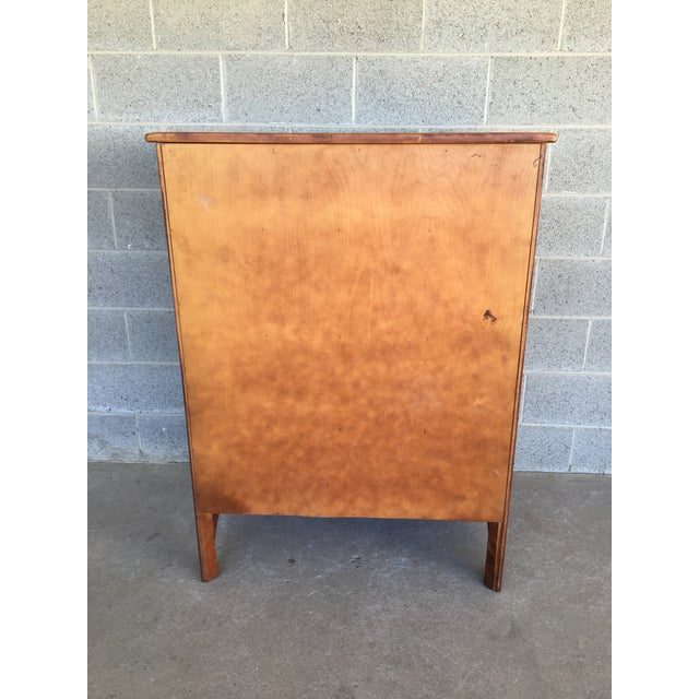 Brown Cushman Colonial Creations Molly Stark Chest of Drawers For Sale - Image 8 of 11