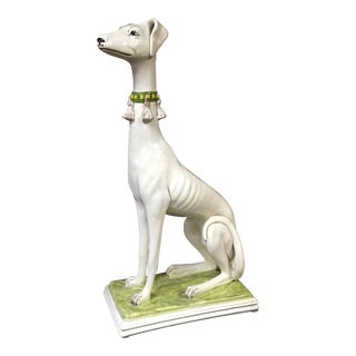 Life Size Whippet Statue For Sale