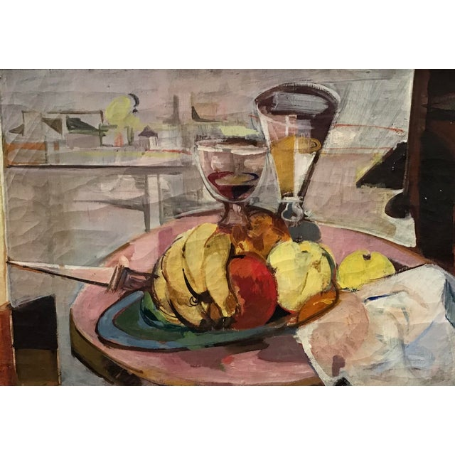 Mid-Century Still Life Painting For Sale - Image 11 of 12