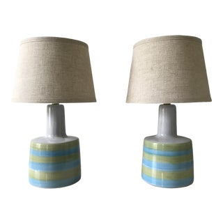 Jane and Gordon Martz for Marshall Studios Table Lamps - a Pair For Sale