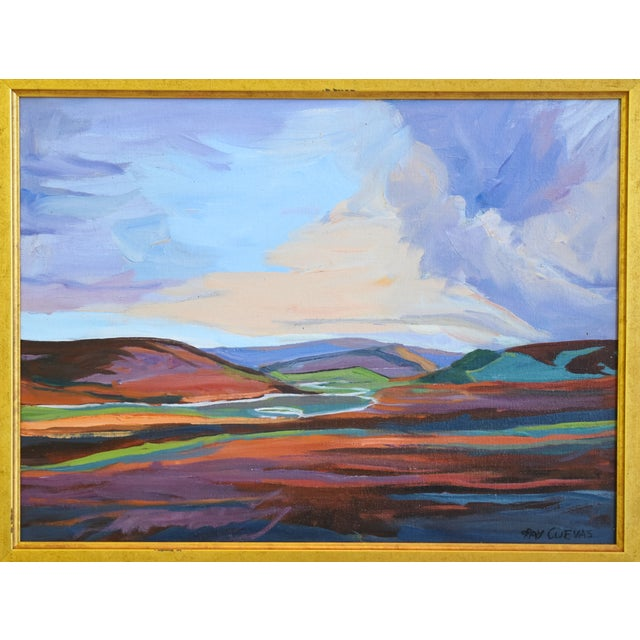 Ray Cuevas, Plein Air River Landscape Oil Painting For Sale - Image 4 of 8