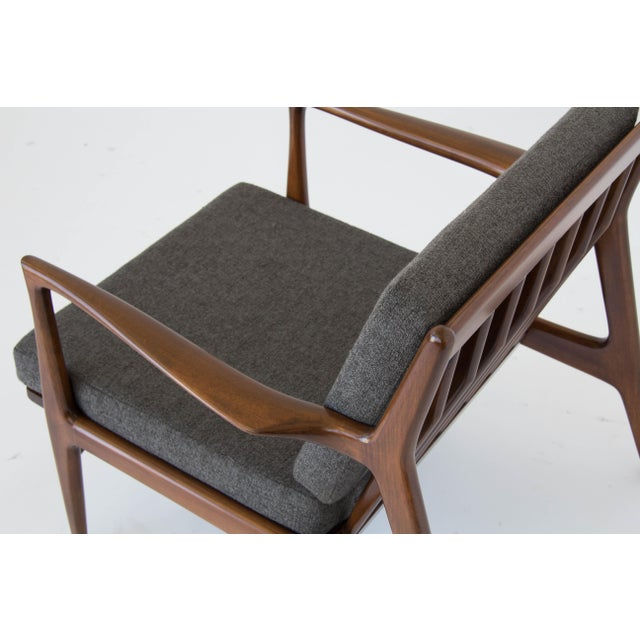 Ib Kofod-Larsen for Selig Lounge Chair For Sale - Image 10 of 11
