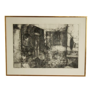 """Evan Summer """"An Echo of a Time"""" Signed Artist Print - Custom Frame For Sale"""