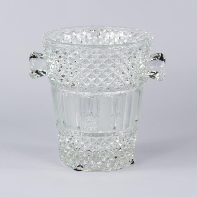 French Cut Crystal Champagne Bucket, 20th Century - Image 11 of 11