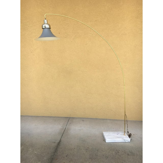 Vintage Mid Century Arc Metal Floor Lamp Chairish