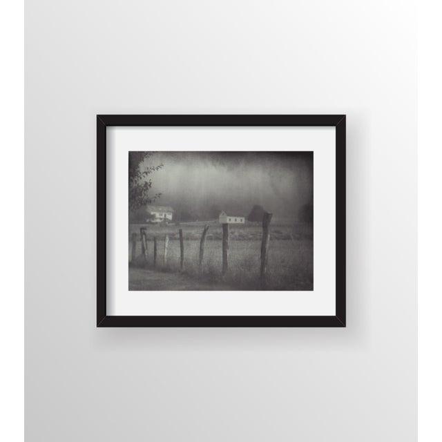 "John Nanian ""Fence and Houses"" Framed Photo Print - Image 2 of 3"