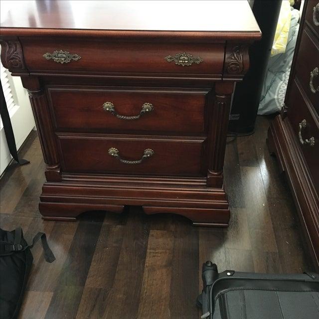 Bassett Furniture Nightstand - Image 3 of 4