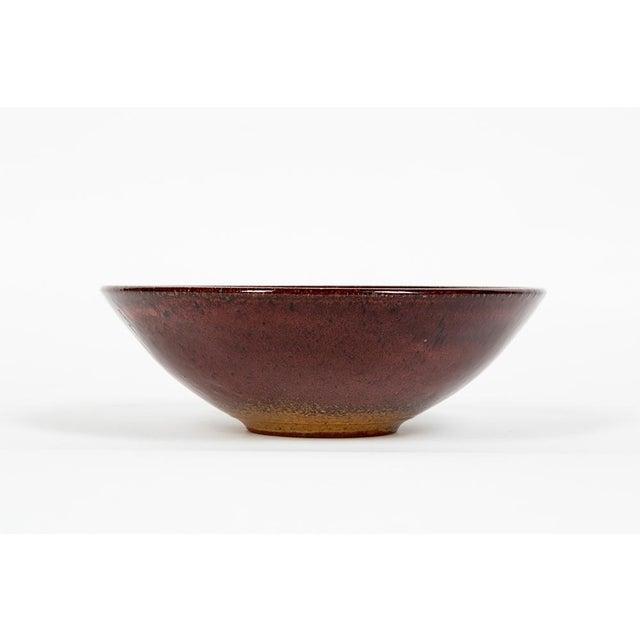 Mid-Century Modern Ceramic Bowl Edouard Chapallaz For Sale - Image 3 of 7