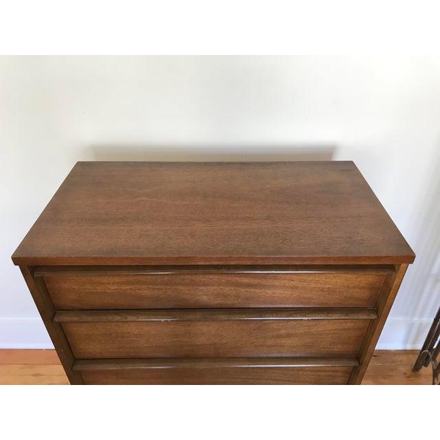 1960s Mid Century Modern Bassett 4 Drawer Dresser For Sale In Seattle - Image 6 of 11