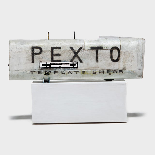 """White """"Pexto"""" Car & Jacket by Patrick Fitzgerald For Sale - Image 8 of 13"""