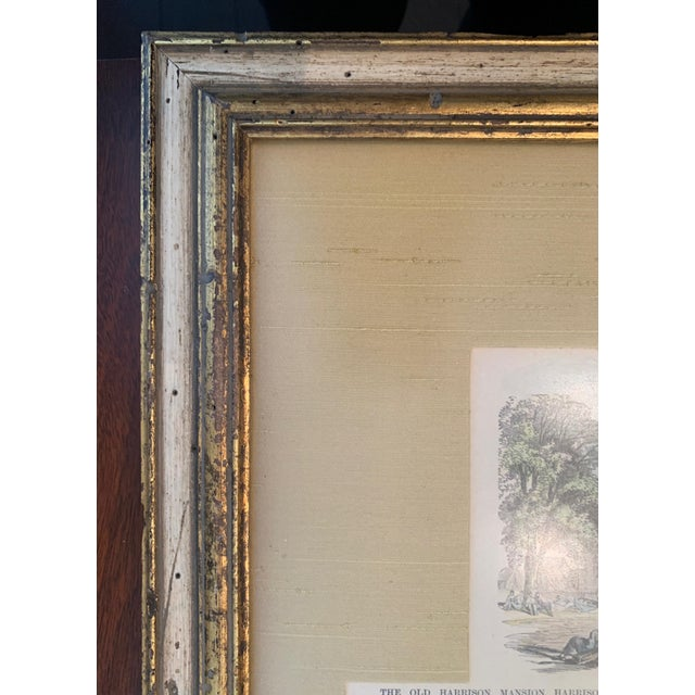 Traditional Late 19th Century Colored Etching, Framed For Sale - Image 3 of 6